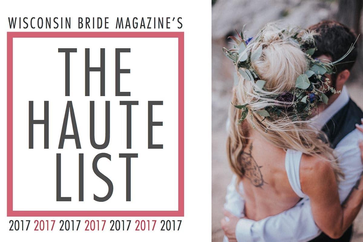 Wisconsin Bride Haute List Twig & Olive