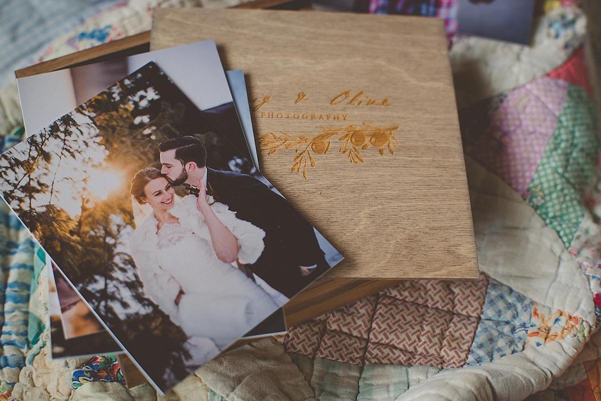 Close Up Wedding Packaging