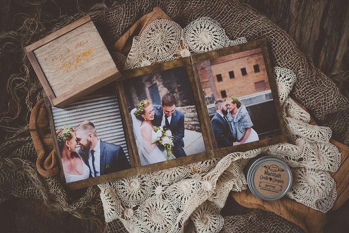 Close Up Wedding Folio Packaging