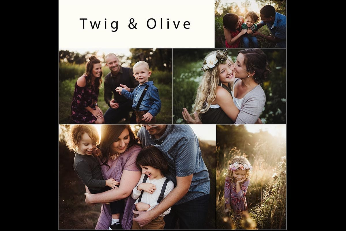 Twig & Olive Collage Workshop
