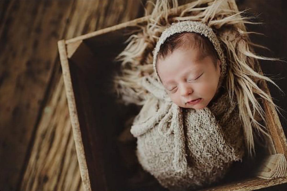 Newborn in Neutral Colors
