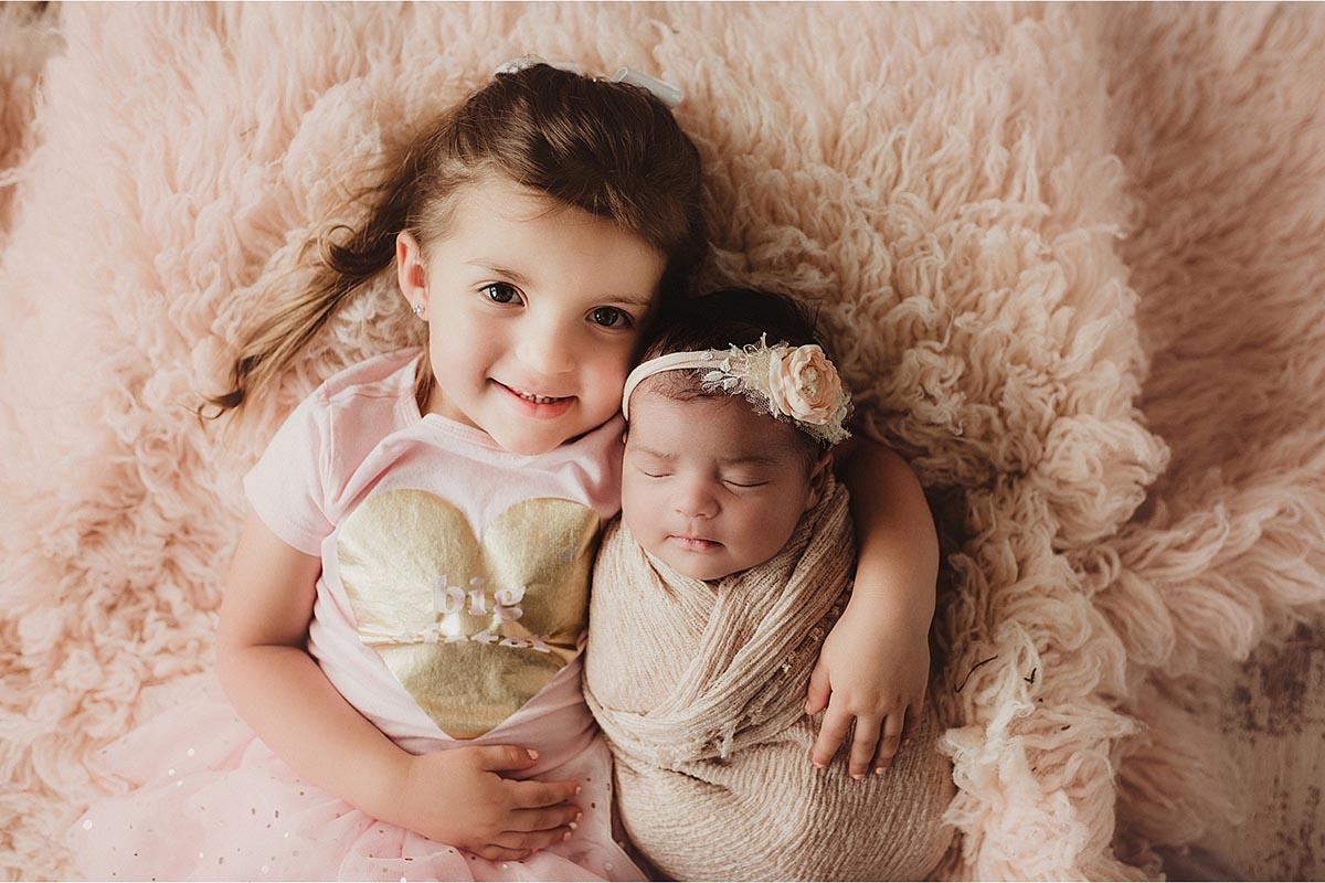 Sister with Newborn