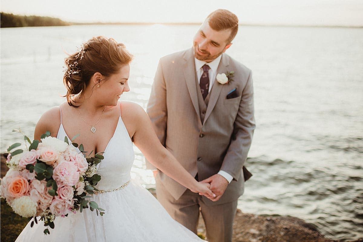 Bride Leading Groom