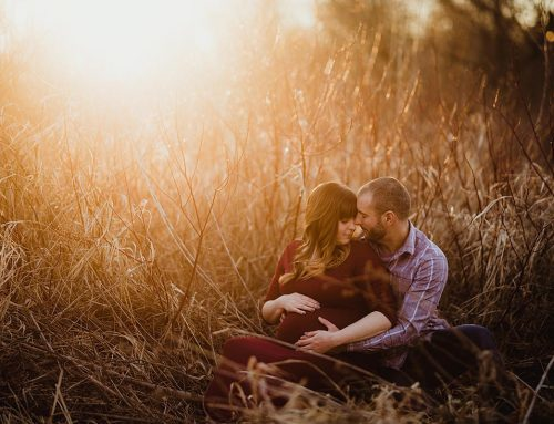 Madison, Wisconsin Sunset Maternity Session
