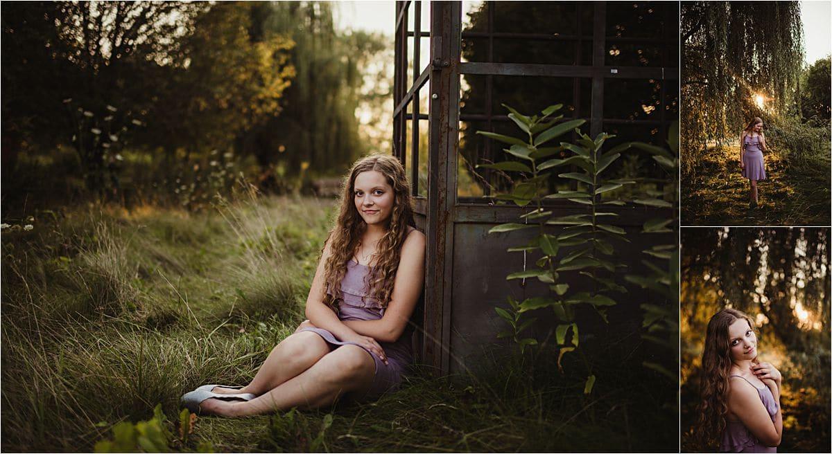 Girl Purple Dress by Greenhouse