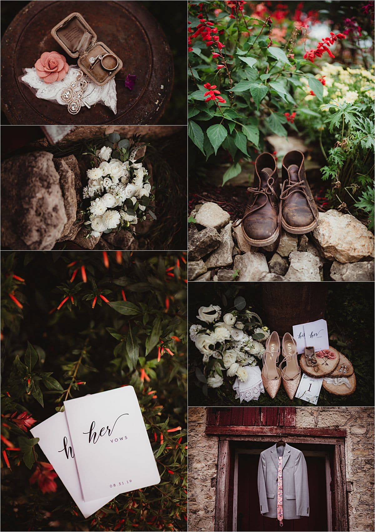 Over the Vines Wedding Details