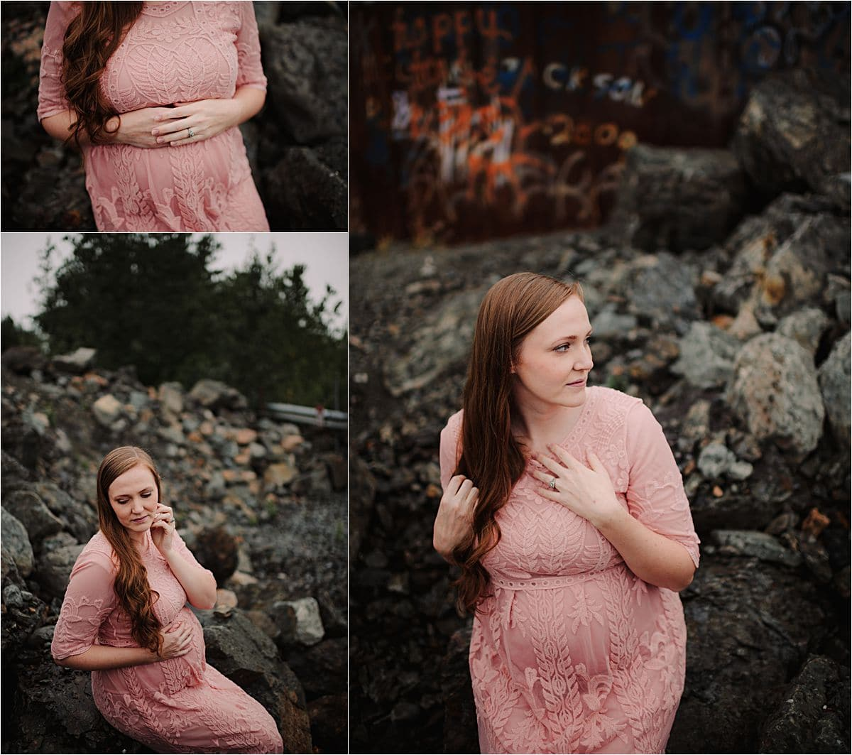 Maternity Session in Alaska