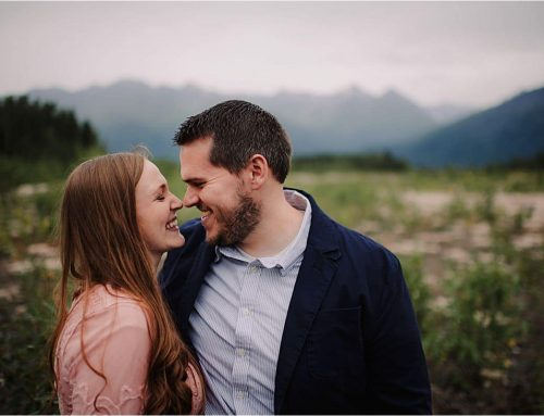 Rustic Outdoor Maternity Session | Palmer, Alaska