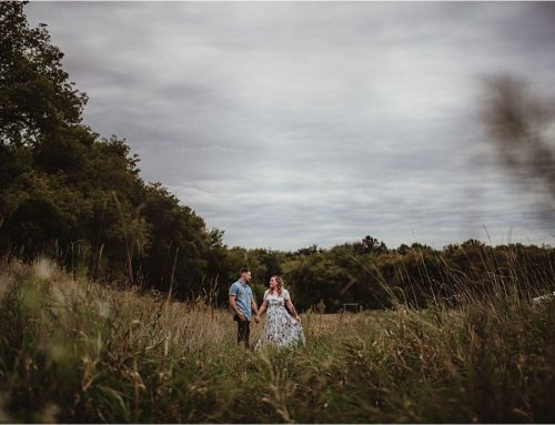 Moody Skies Couple's Session | Hartford, Wisconsin