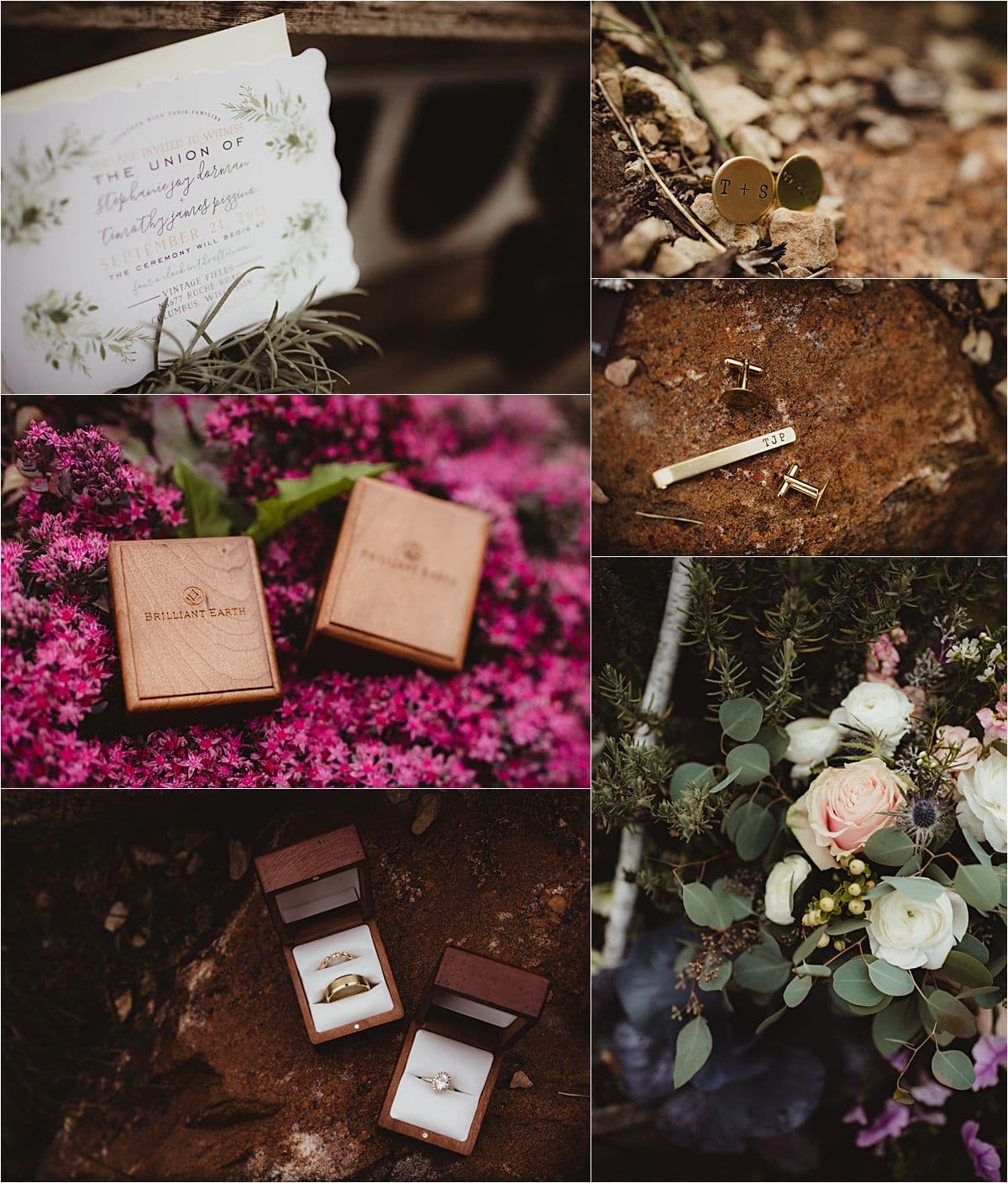 Vintage Fields Fall Wedding Details