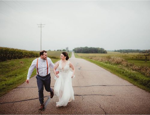 Rustic Outdoor Fall Wedding | Vintage Fields at Farmin' Betty's, Columbus Wisconsin