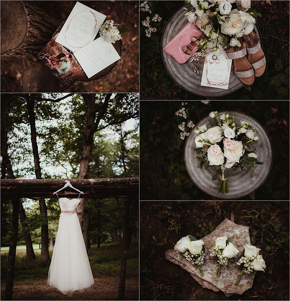 Outdoor Wedding Wisconsin: Chula Vista Resort Outdoor Fall Wedding