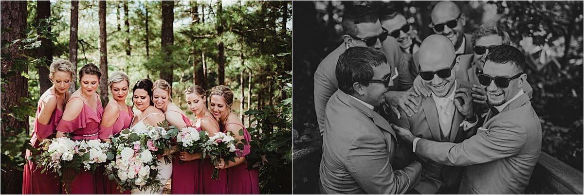 Wedding Party Group Photos