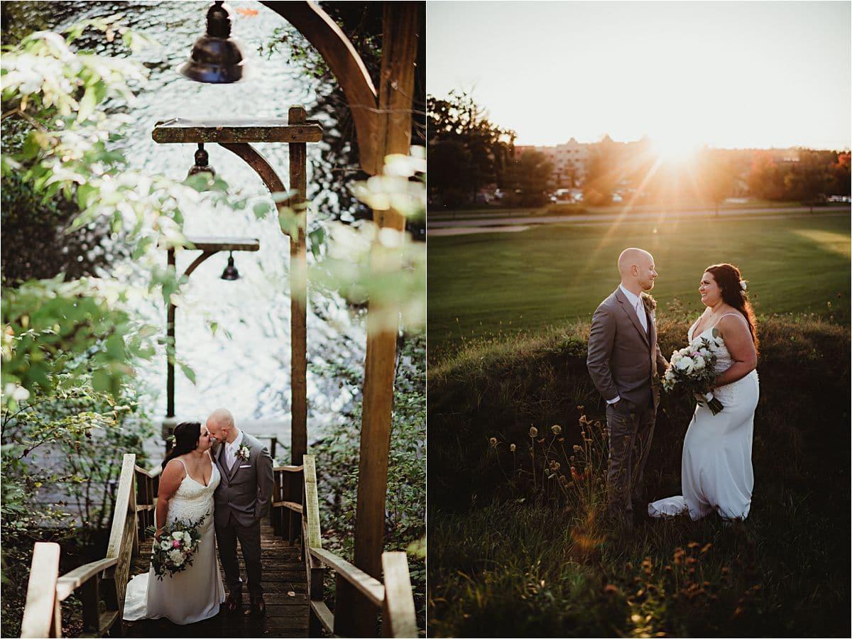 Favorite Wedding Image Bride Groom Outside