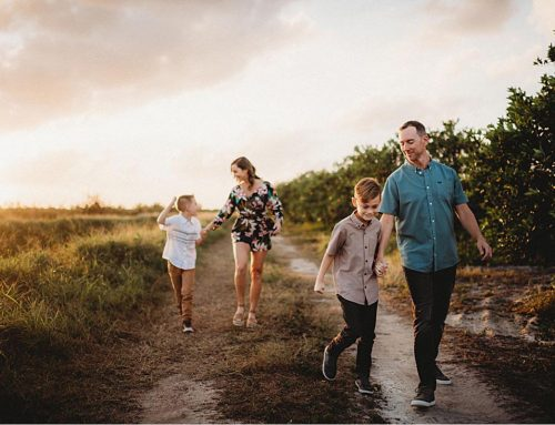 Orange Grove Family Session | Vero Beach, FL