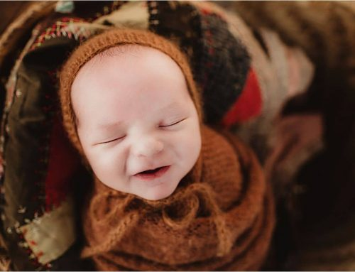 Garver Feed Mill Newborn Boy Session | Madison WI