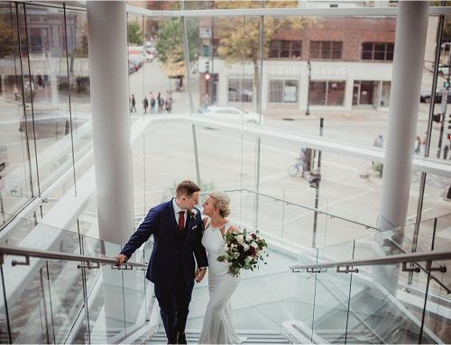 Downtown Madison Wisconsin Fall Wedding | Orpheum Theater