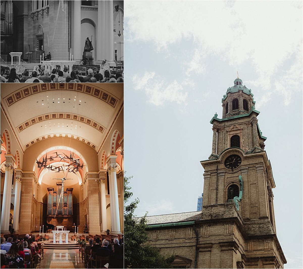 Downtown Milwaukee Cathedral Wedding Details