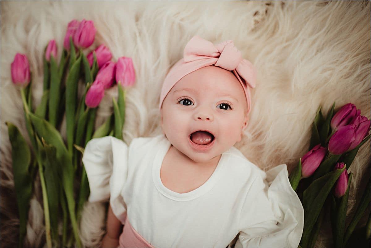 Close Up Baby Pink Headband