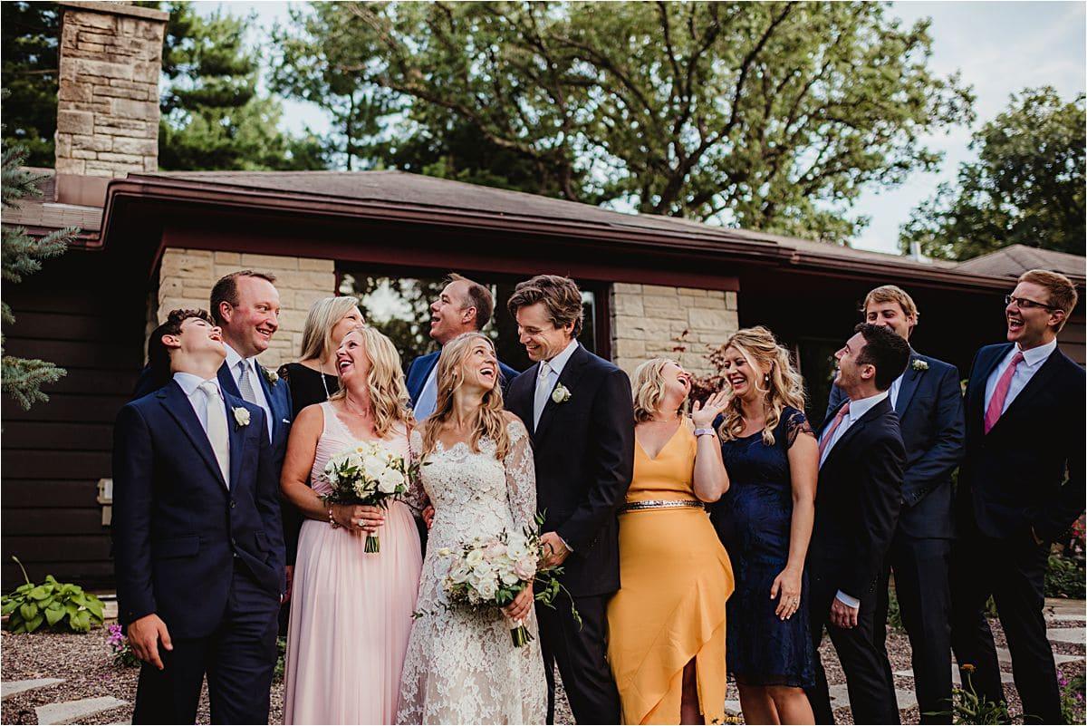 Wisconsin Summer Wedding Wedding Group