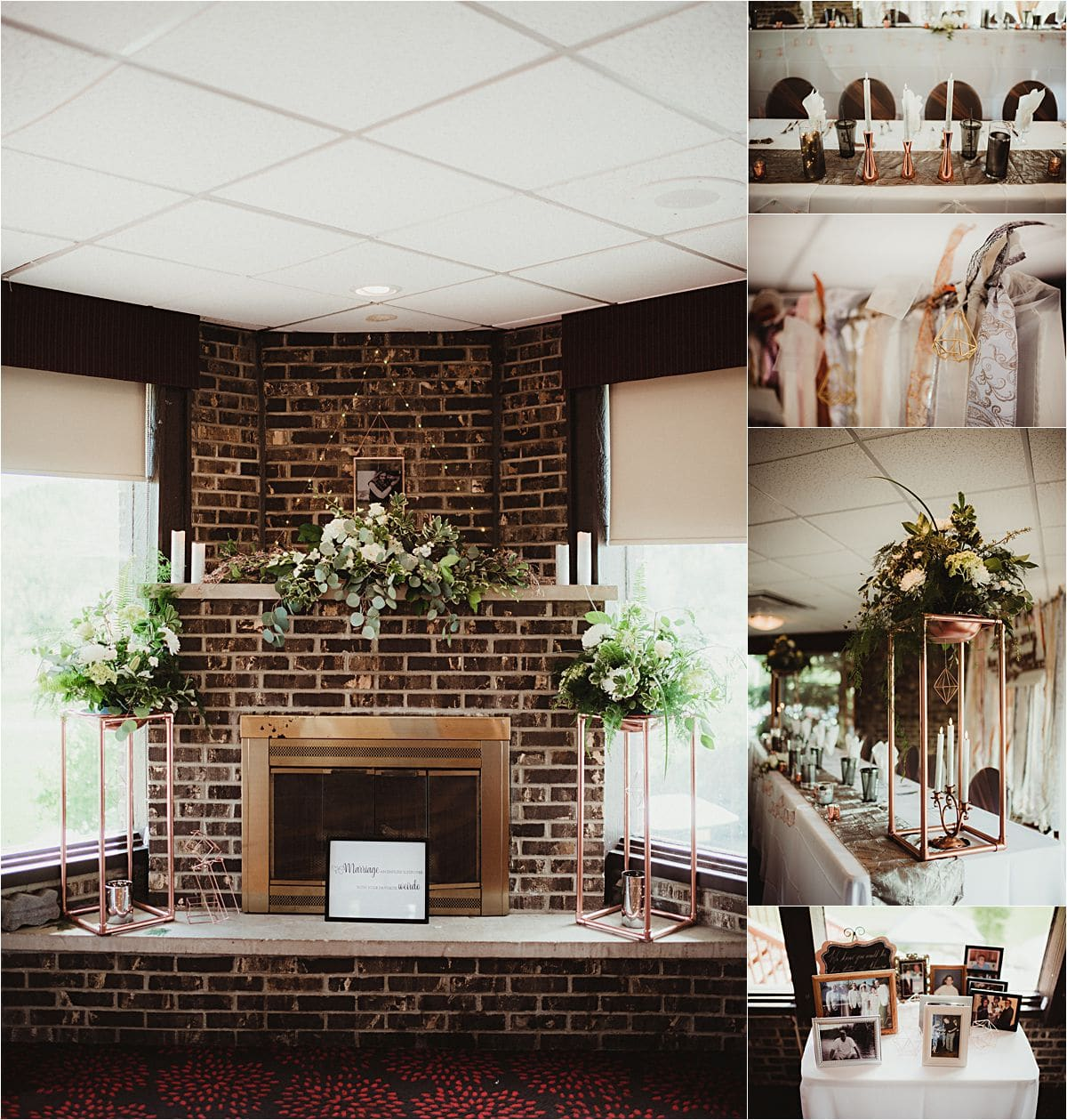 Country Club Wedding Reception Details