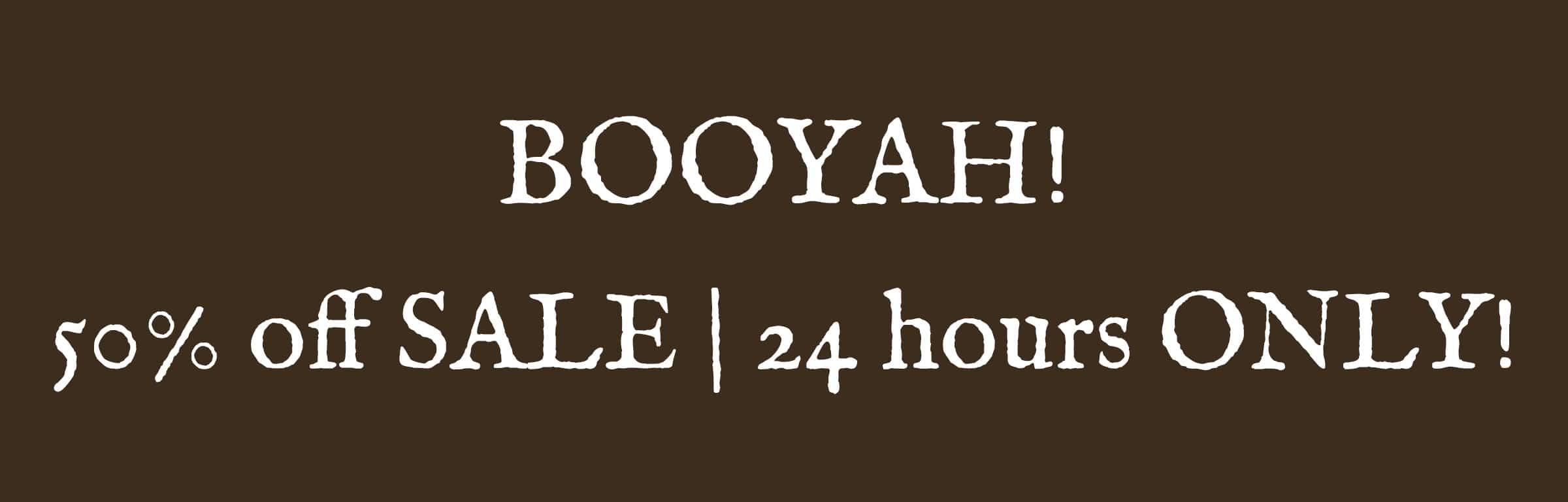 booyah sale