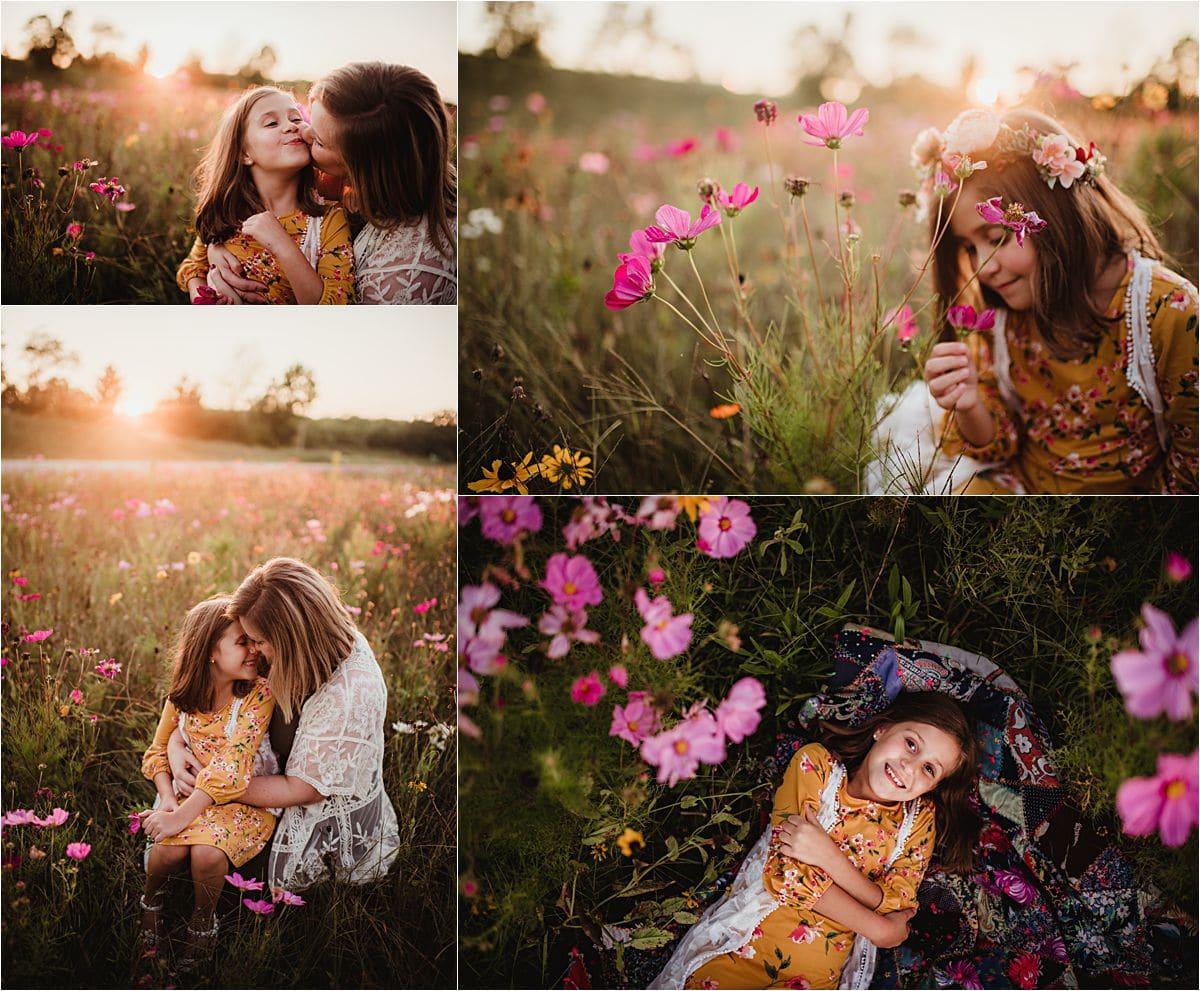 Summer Sunflower Session Wildflower Field
