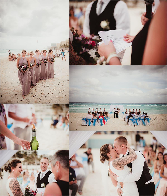 Mexico Beachfront Wedding