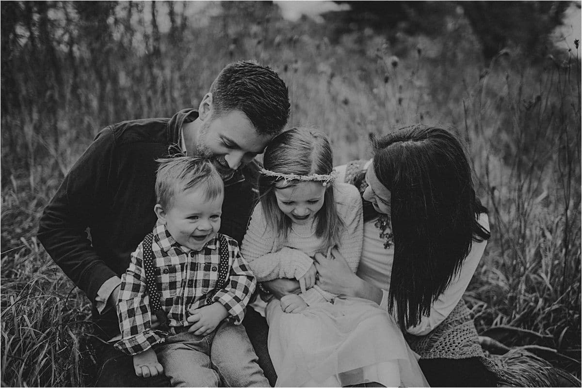 Fall Nature Family Session