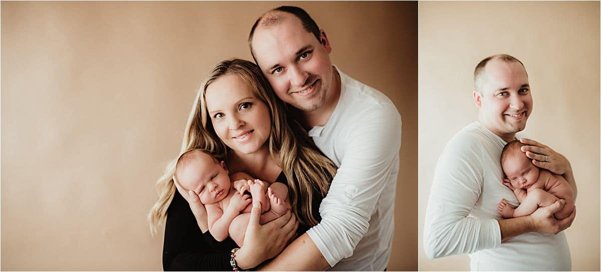 Newborn Session with Family