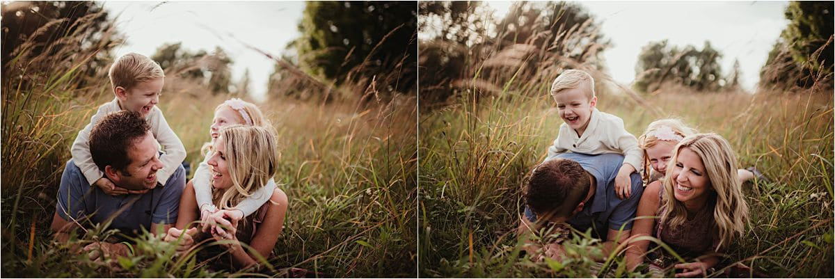 Fall Field Family Session