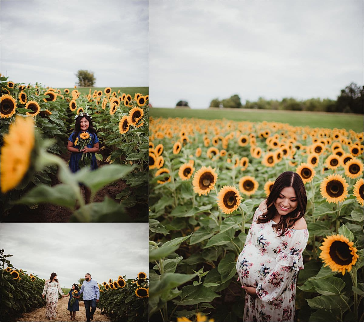 Wildflower Maternity Session