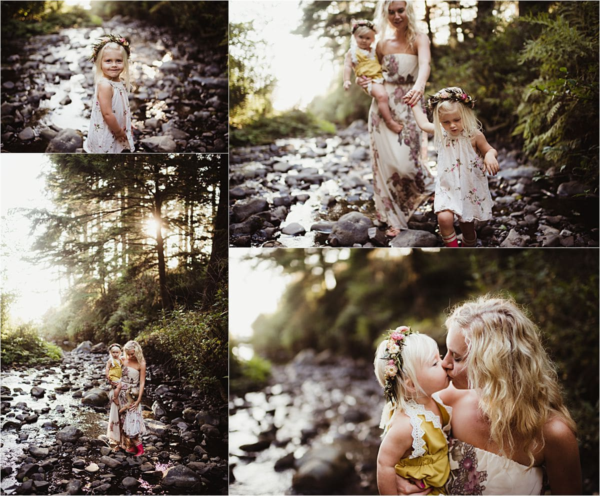 Sunset Forest Family Session