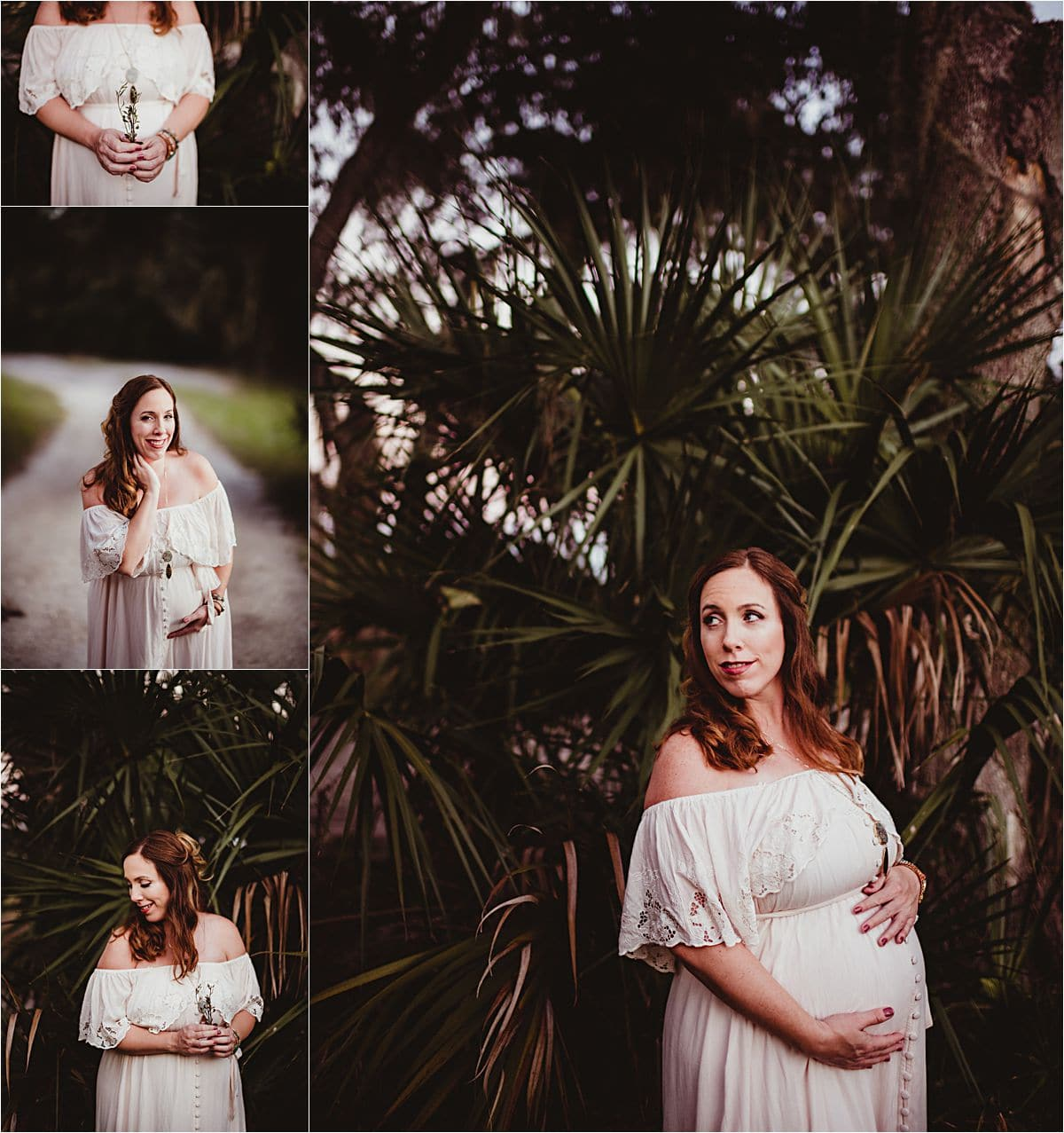 Sunset Maternity Session in Palms