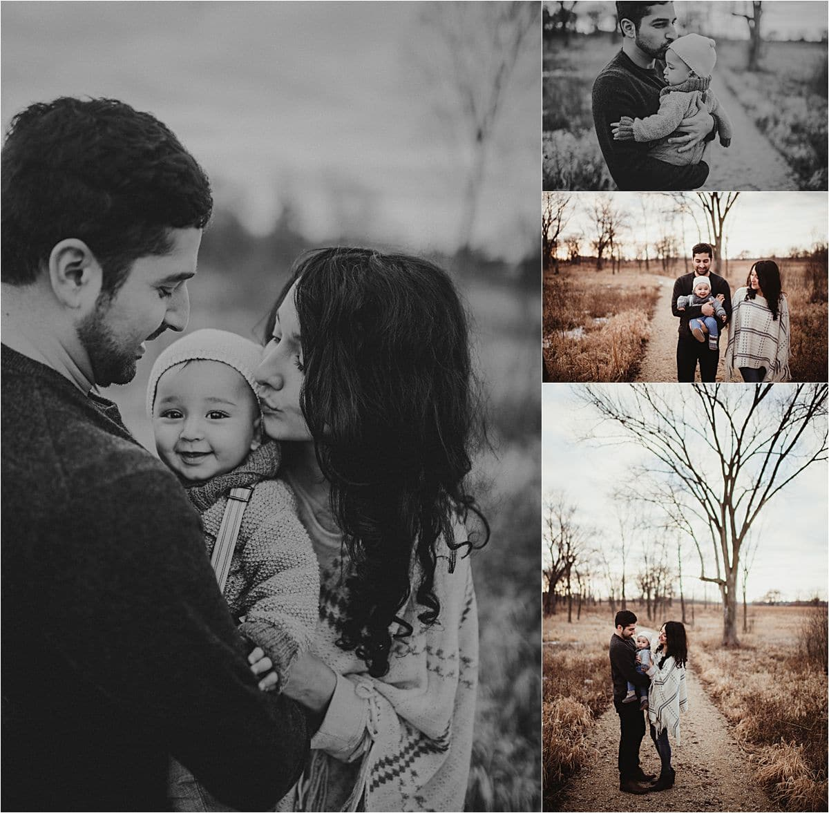 Winter Marsh Family Session