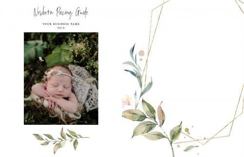 geometric serenity newborn