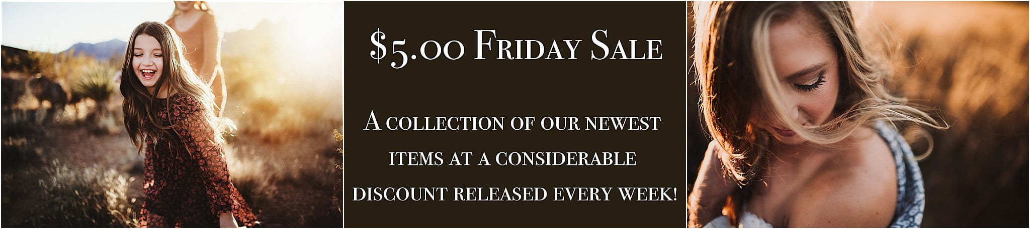 5.00 friday photography sale