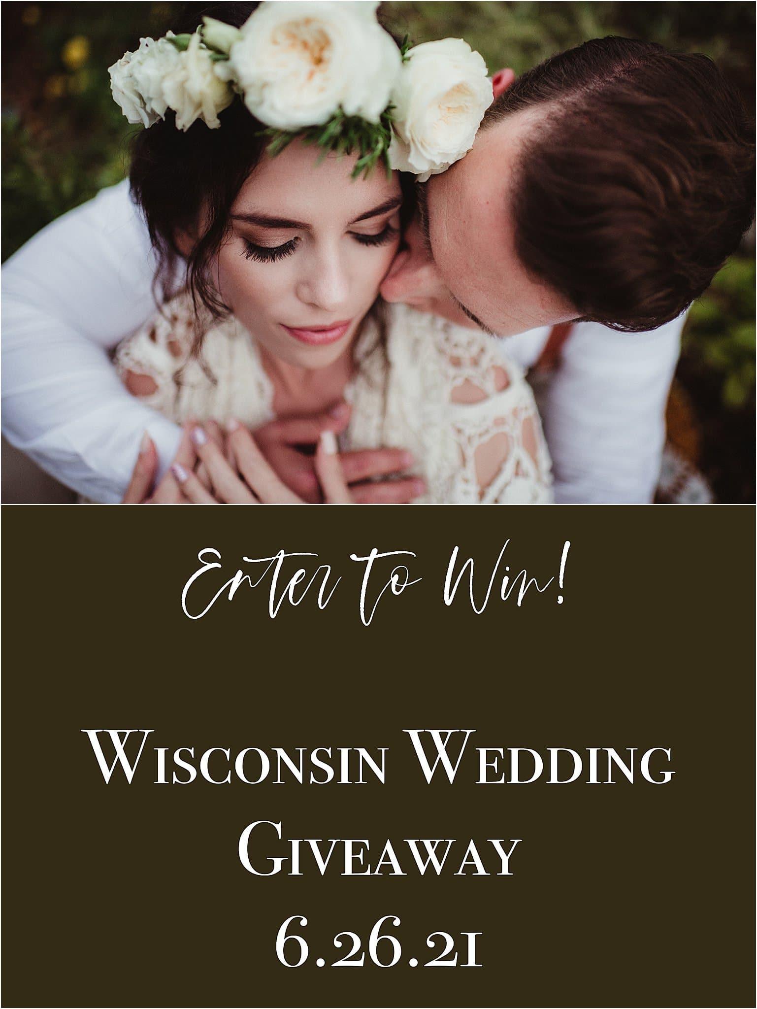 Madison Wisconsin wedding giveaway