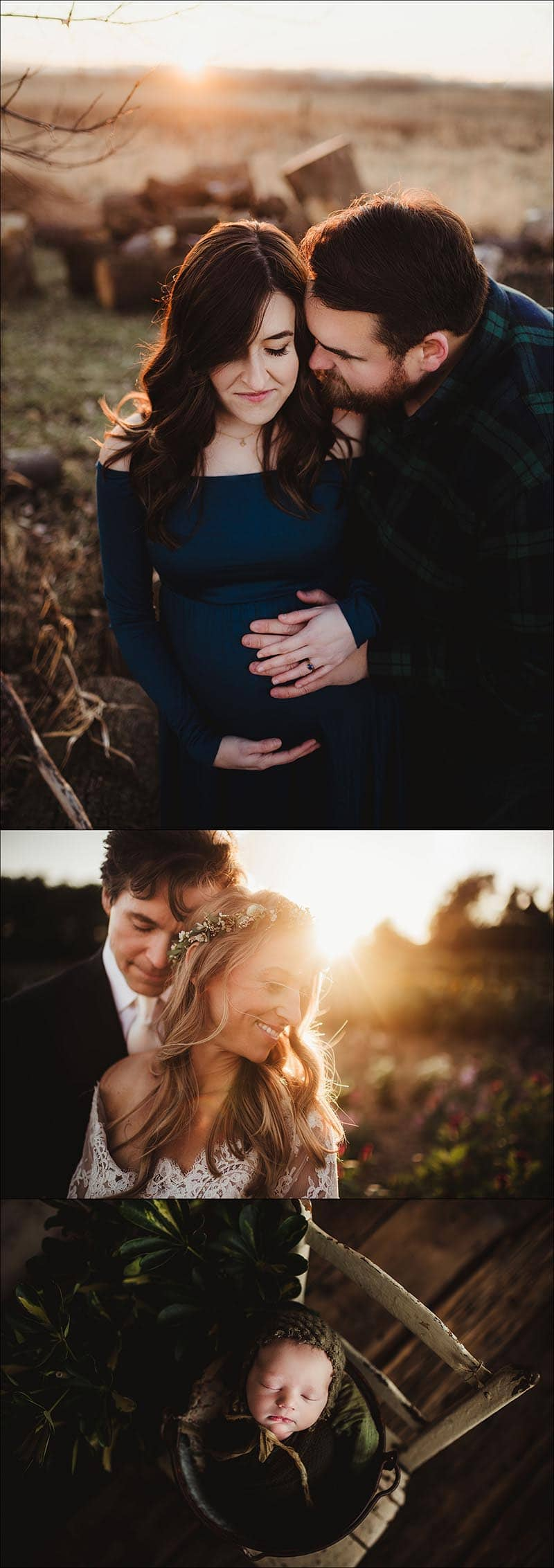 Wisconsin Maternity Wedding Newborn Photographer