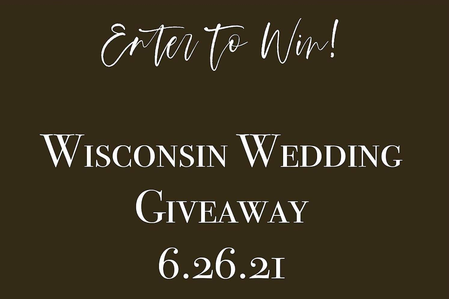 Wedding Giveaway Notice