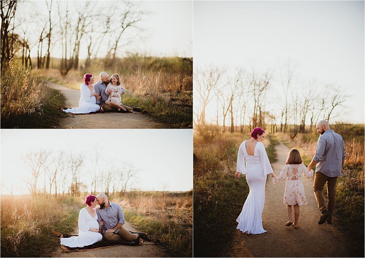 Maternity and Family Session in Nature