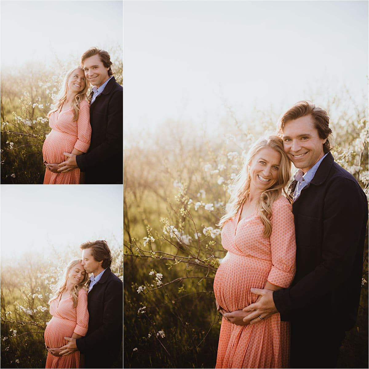 Spring Blooms Maternity Session