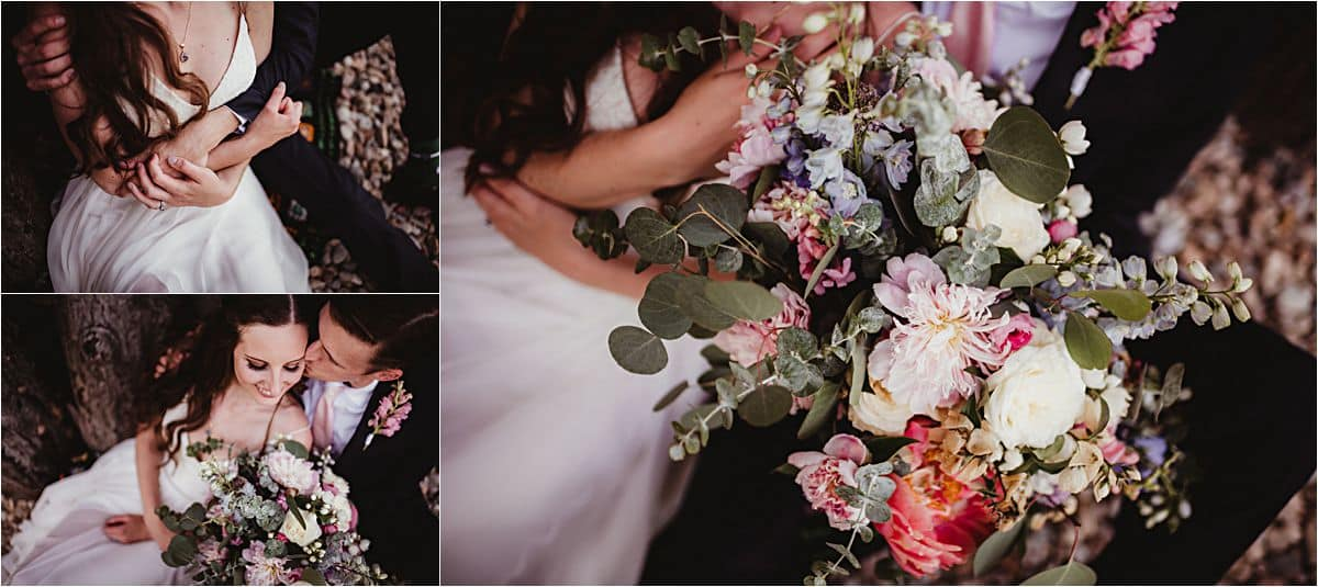 Summer Micro Wedding Floral Details
