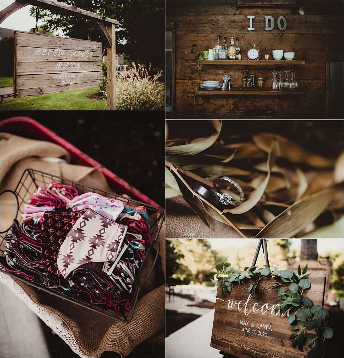 Southern Maine Barn Wedding Details