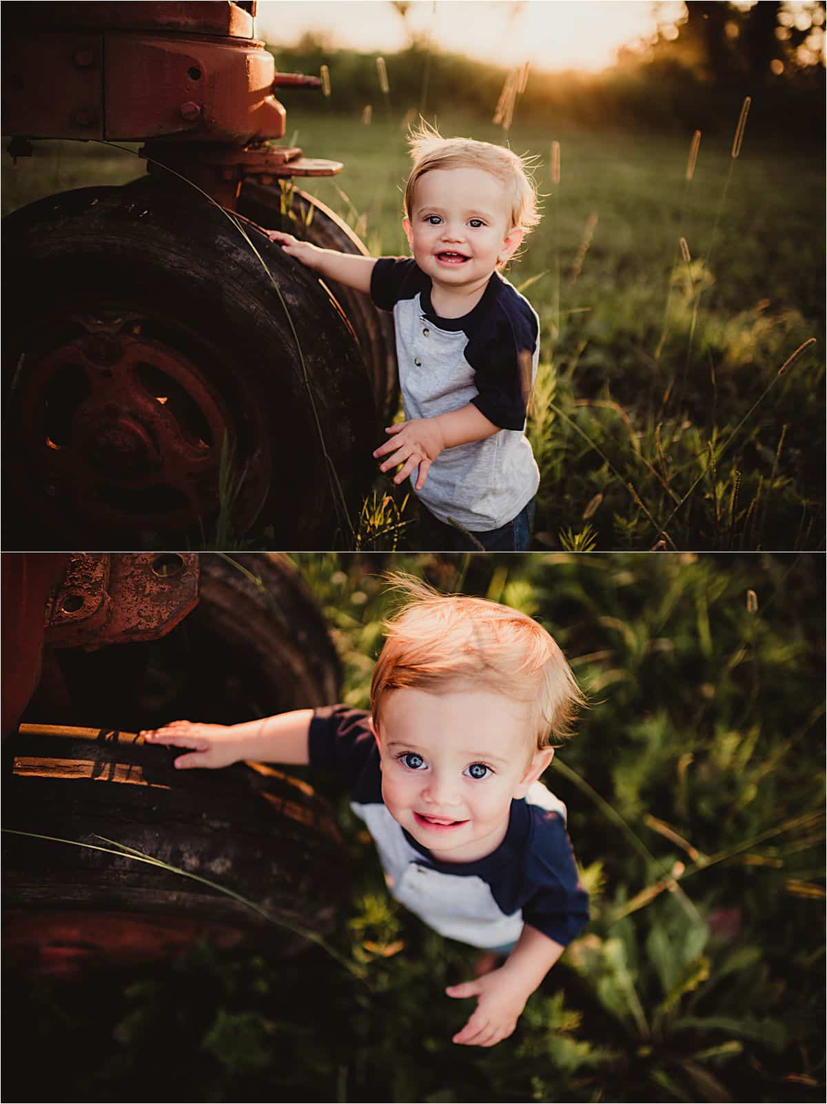 Little Brother by Tractor