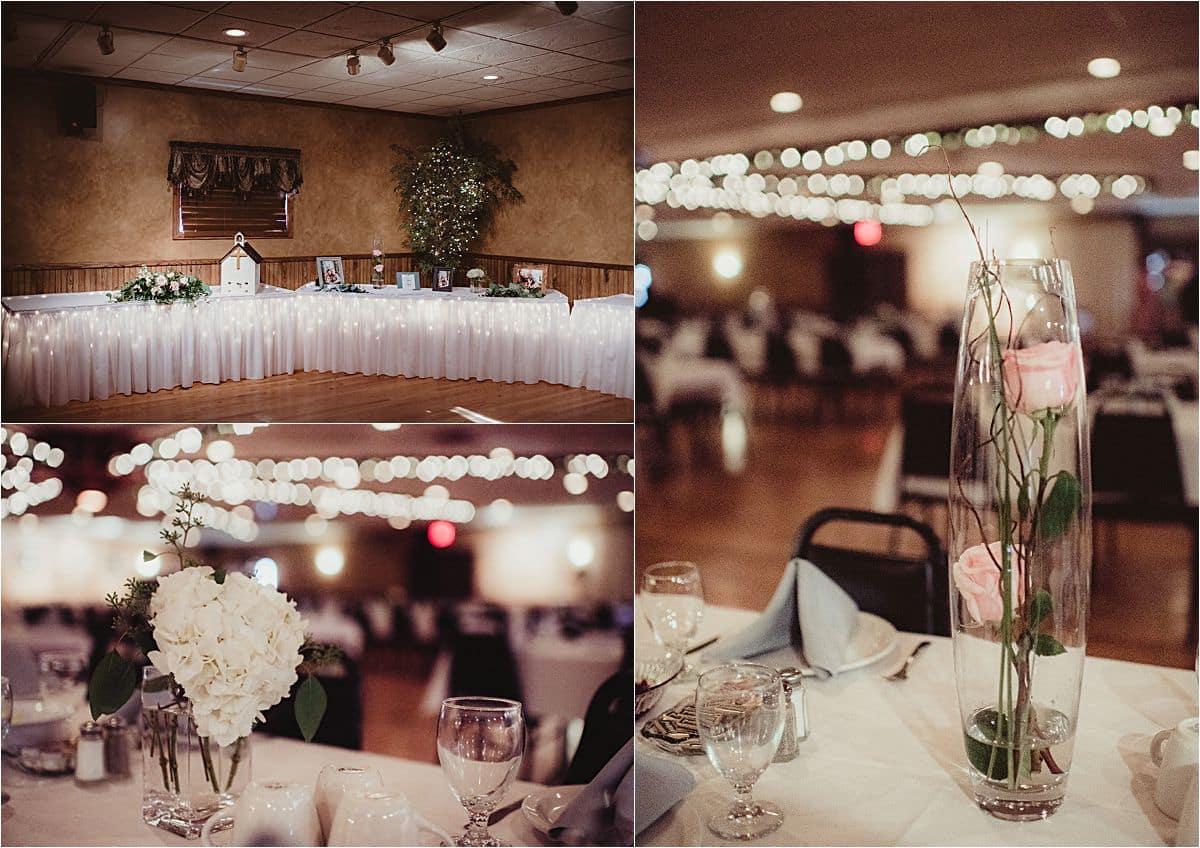 Blush and Ivory Summer Wedding Reception Details