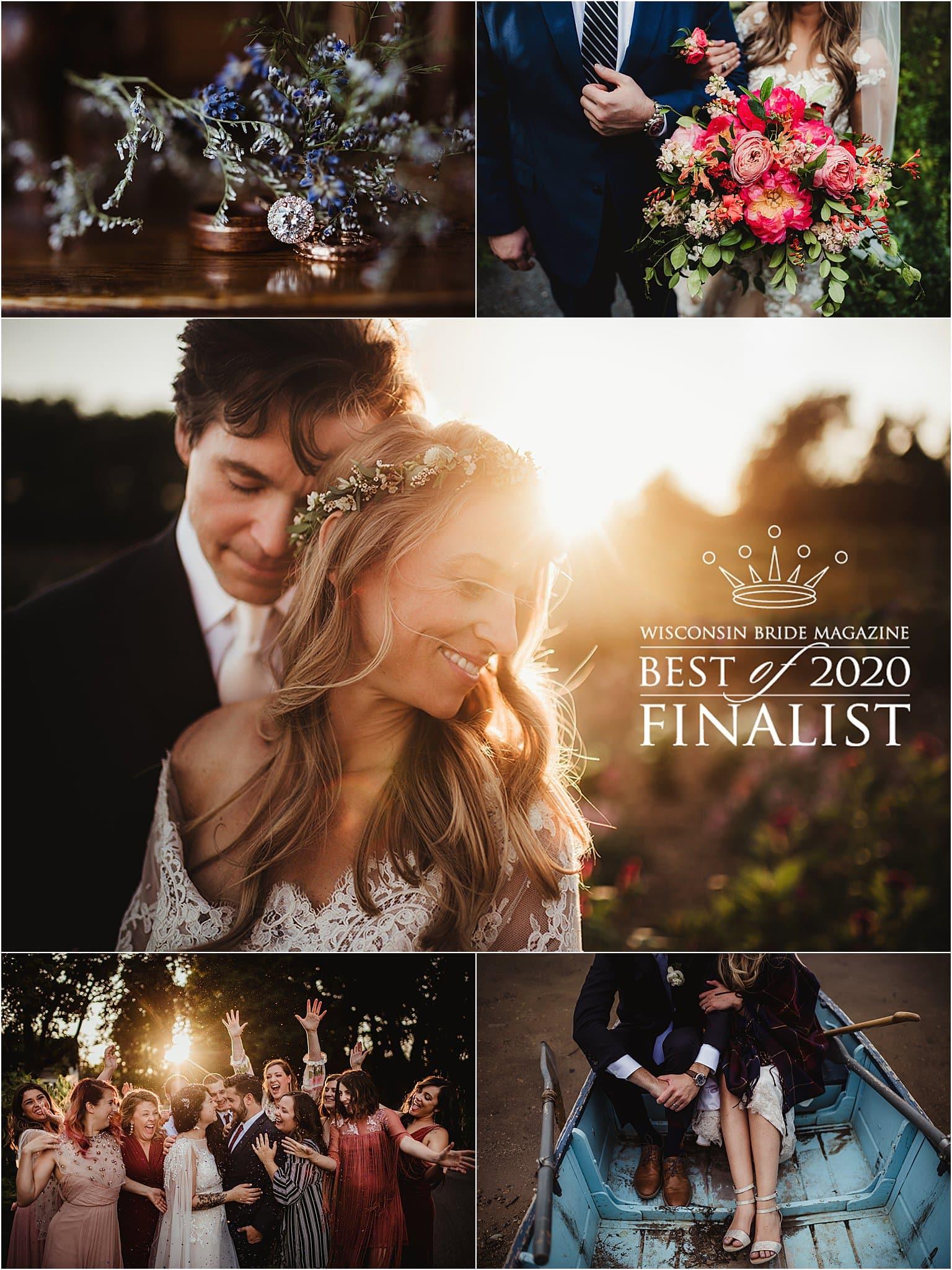 Wisconsin bride best of finalist photographer
