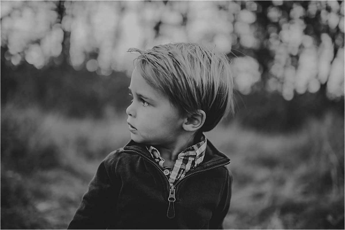 Profile of Boy