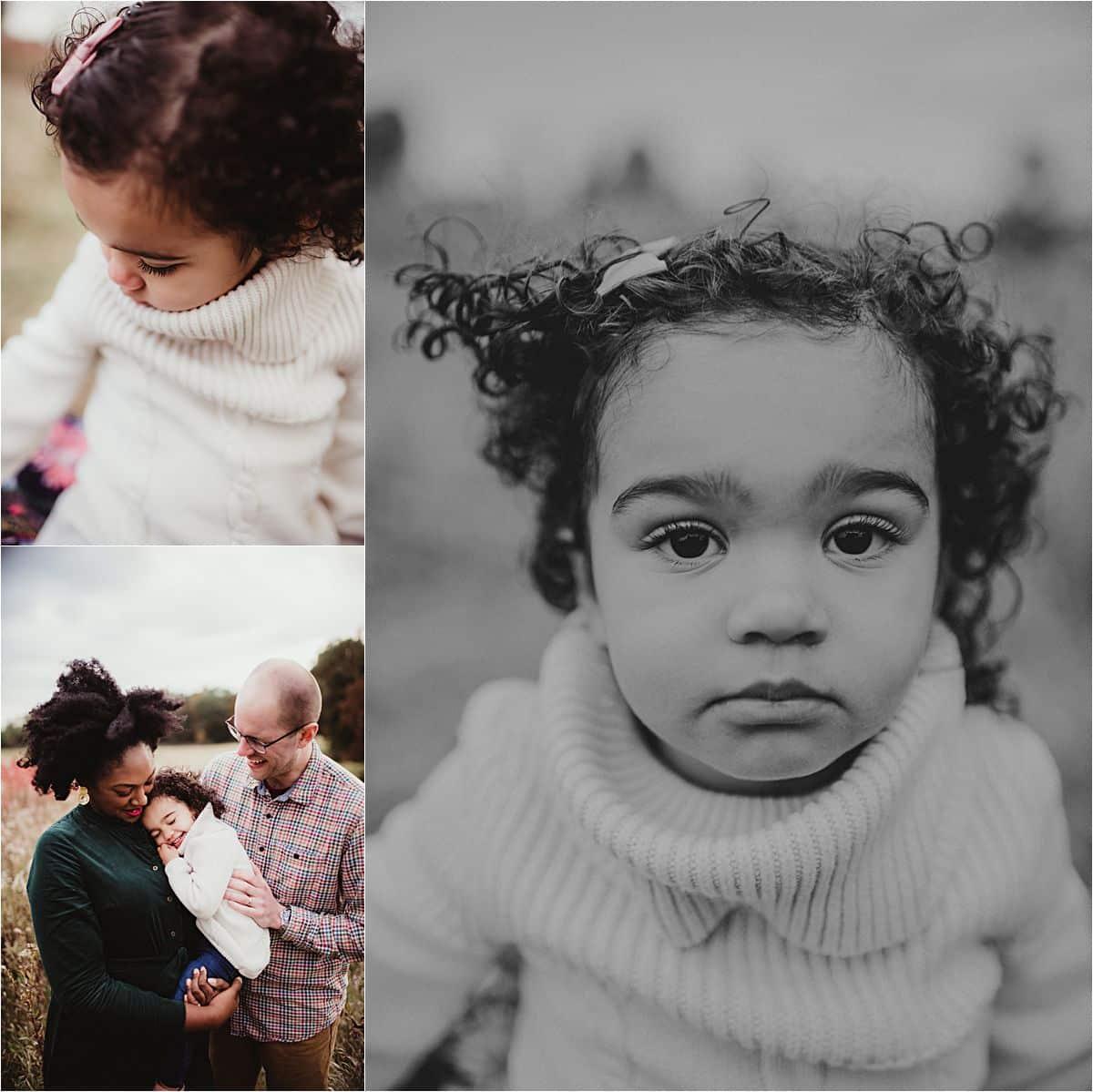 Close Ups of Daughter