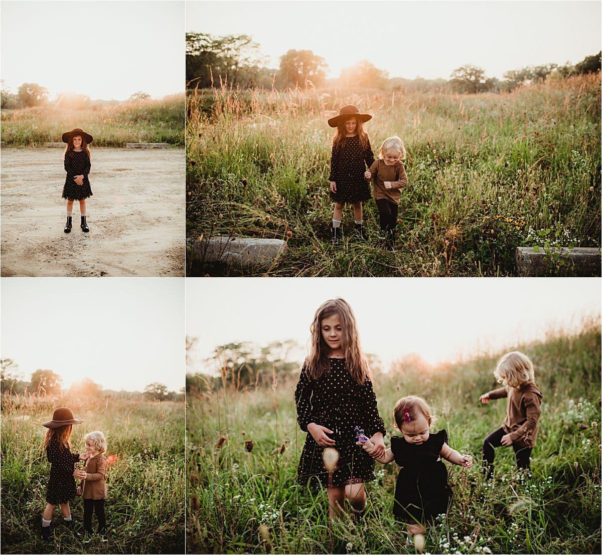 Sibling in Field